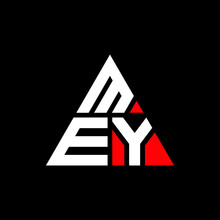 MEY Triangle Letter Logo Design With Triangle Shape. MEY Triangle Logo Design Monogram. MEY Triangle Vector Logo Template With Red Color. MEY Triangular Logo Simple, Elegant, And Luxurious Logo. MEY