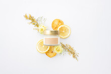 レモンの香りのするアロマキャンドル(3)