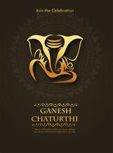 Lord Ganesha , Ganesh Festival Illustration Of Lord Ganpati Background For Ganesh Chaturthi Festival Of India