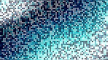 Digital Fractal Pattern. Abstract Background.