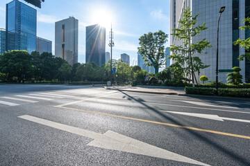 road in city