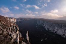 Beautiful Canyon Vela Draga, Croatia