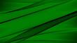 Leinwandbild Motiv Abstrakter Hintergrund 4k grün hell dunkel schwarz Wellen Linien Wellness