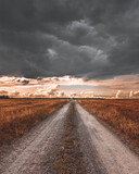 Fototapeta Na sufit - Krajobraz przed burza