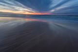 Fototapeta Na sufit - Sunset over the Baltic Sea, Pobierowo, Pustkowo, Trzęsacz, Bałtyk, Poland