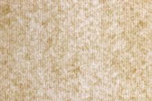 Decorative Striped Paper Texture. Onion Fibers Decorated Paper Background. Kraft Stripes Paper Pattern. Landscape Horizontal Orientation.