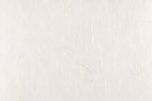 Decorative Yunlong Kam Paper Texture. Thin Silk Fibers Decorated Paper Background. Landscape Horizontal Orientation.