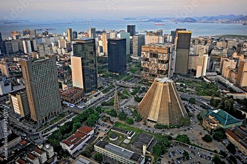 Carta da parati Vista aérea da cidade do Rio de Janeiro.
