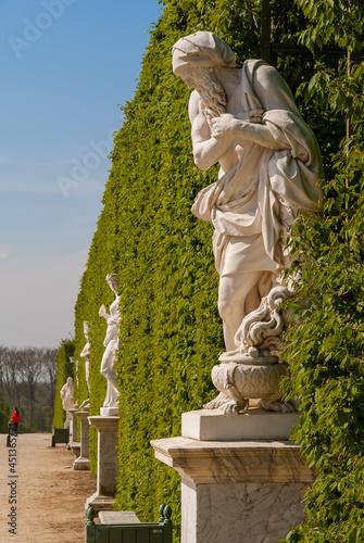Ogrody pałacu Wersalskiego - Paryż, Francja