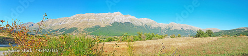 Fotografie, Obraz Panorama of Gran Sasso mpountains in Italy