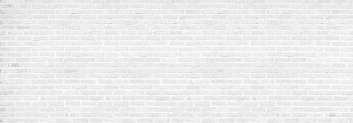 vintage white brick wall texture background
