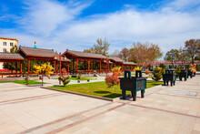 Chinese Garden In Samarkand City, Uzbekistan