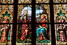 Dinan, France - September 7 2020 : Saint Malo Church