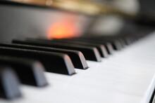 Piano Keys Perspective