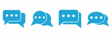 Chat Icon Vector Sign Symbol