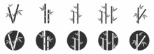 Bamboo Icon And Logo Collection