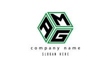 AMG Polygon Creative Latter Logo