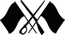 Color Guard SVG Cut File, Color Guard Flags SVG, Winter Guard Svg, Marching Band Svg Rifle Svg, Sabre Svg, Dance Team Svg