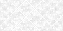 Simple White Pattern Seamless Geometric Background