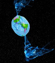 Warming At The Earth's Poles, Conceptual Illustration