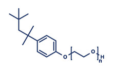 Triton X-100 Detergent Molecule, Illustration