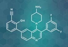 Paltusotine Acromegaly Drug Molecule, Illustration