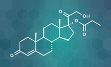 Clascoterone Drug Molecule, Illustration