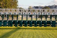 Thoroughbred Racecourse Starting Gate
