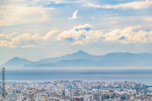 Obraz na plátně Athens Aerial Landscape, Greeece