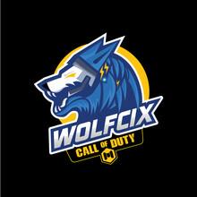 WOLFCIX GAMER LOGO