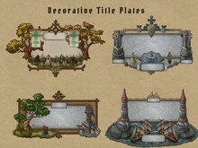 Fantasy Decoration Pack For Titles