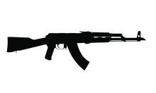 AK-47 Rifle Silhouette