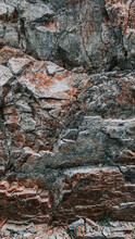Vertical Shot Of A Rock Texture Background