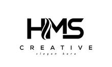 Letter HMS Creative Logo Design Vector