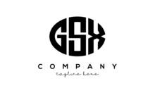 GSX Three Letters Creative Circle Logo Design