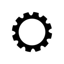 Gear Vectpr Icon Set. Mechanism Illustration Sign Collection. Mechanics Symbol Or Logo.