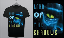 Lord Of The Shadows Royalty-Free T-Shirt Design Template