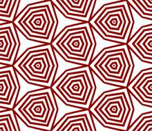 Tiled Watercolor Pattern. Maroon Symmetrical