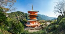 Seiganto-ji Pagoda Near Kumano Nachi Taisha Shrine, Wakayama Prefecture, Japan