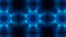 Dark Blue Energy Kaleidoscope