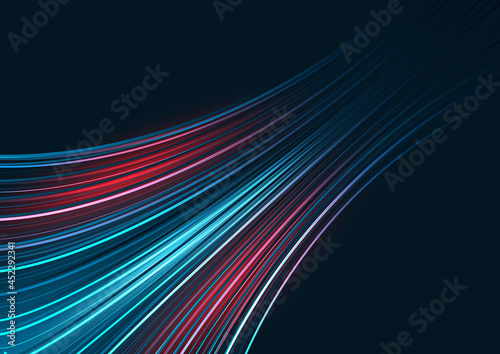 Photo Abstract technology background