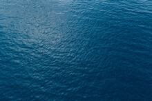 Aerial View Of Beautiful Sea Wave Surface