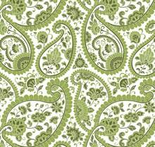 Colorful Paisley Floral Pattern , Textile , Rajasthan, Royal India