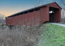 Old Covered Bridge, Athens, Ohio, USA