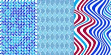 Variedad De Patrones Secuenciales Diferentes Colores