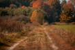 jesień na wsi, polska wieś