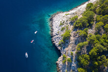 Coral Reef In The Sea Beach Croatia Nugal