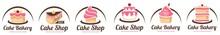 Cake Logo Templates.