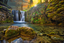 Dragon Cave Waterfall