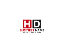 Letter HD Logo, Hd Logo Icon Design Vector For All Kind Of Use